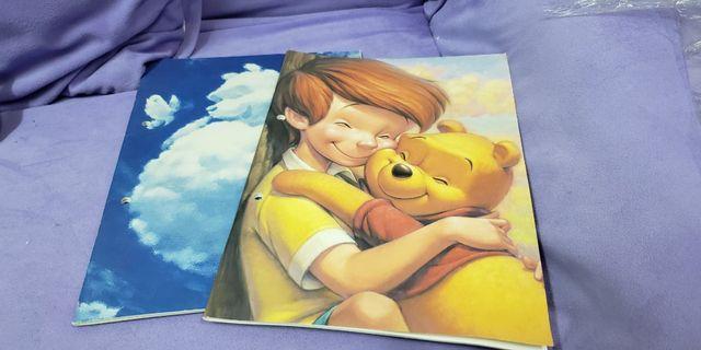 日本 迪士尼 小熊維尼 pooh notebook