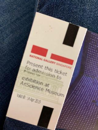 🚚 To bless: Minimalism exhibition ticket - Expires today