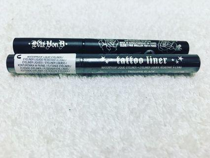 Bnew Kat Von D Mini Tattoo Eyeliner in Trooper Black (sold per piece)