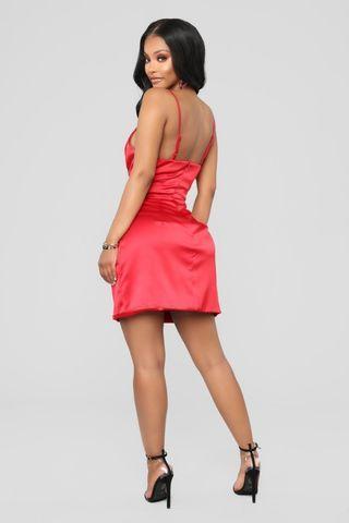 Fashion Nova Satin Dress - Brand new with tags
