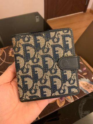 Authentic Christian Dior Trotter Bifold Wallet