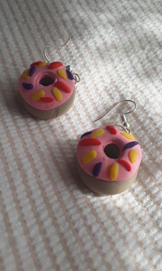 DONUT clay earrings!