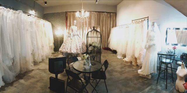 Coming up wedding gowns