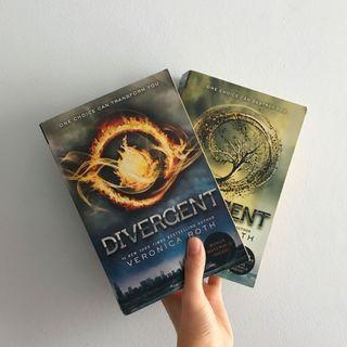 divergent & insurgent by veronica roth