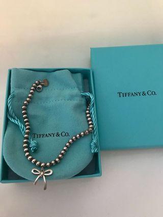 a6ba4c49f82 Tiffany   Co bow bead Bracelet
