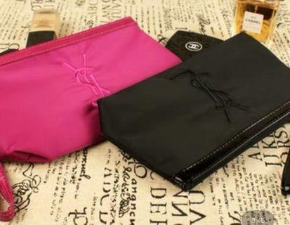 YSL 全新化妝袋 專櫃贈品 cosmetic bag