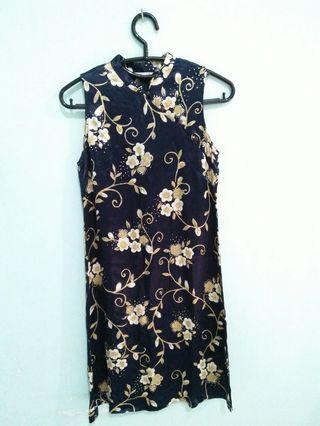 Floral Dress model cheongsam
