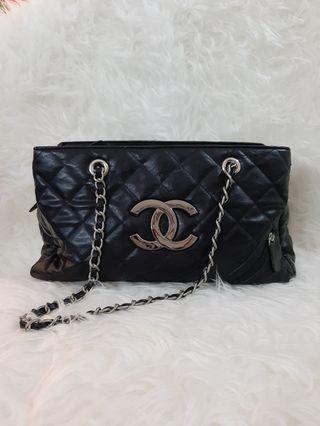 Chanel mirror bowling Bag