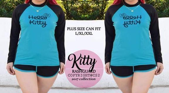 """""""KITTY"""" PLUS SIZE RASHGUARD"""