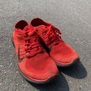 Nike 紅色 編織鞋(保留)