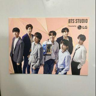 bts love yourself world tour official photocard lg studio plus free gift