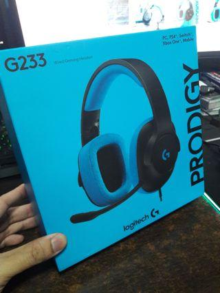 Logitech G223 Wired Gaming Headset with Mic