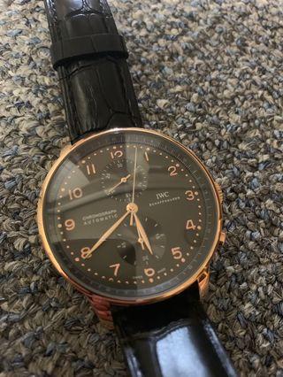 🚚 IWC 葡萄牙 Protuguese 41mm 機械腕錶