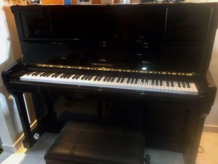 Christofori piano with Warranty