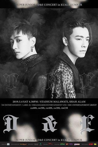 Super junior d&e concert in KL