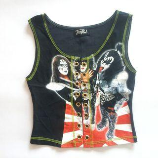PRELOVED KISS Band Jonny Rock Vest