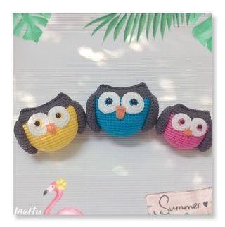 Owls Family Set