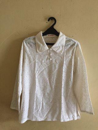 Lace Shirt (Long Sleeves)