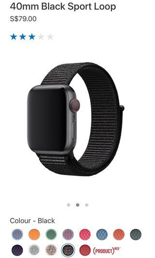 Authentic Apple Watch Strap