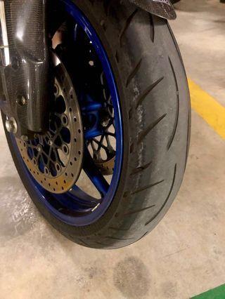 Metzeler M5 120/70 [Used Tire]