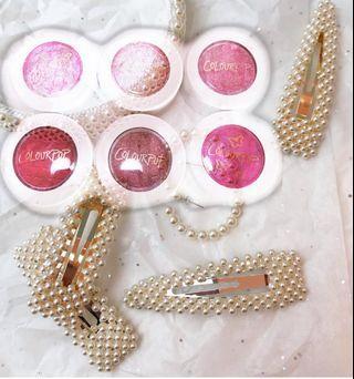 Bundle✨ colourpop + pearl hair clip