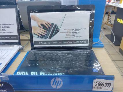 Laptop HP bisa cicil