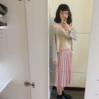 🚚 古著商品 夏季百摺裙