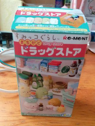 Re-ment 角落生物 drug store 旅行用的