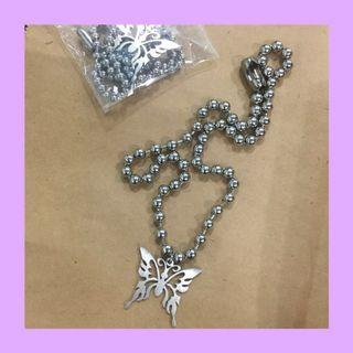 (instock!) butterfly ball chain necklace