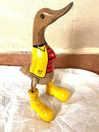 Bali Duck Wood Carving