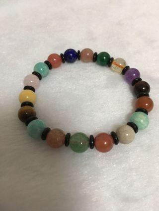 Multiple crystals bracelet