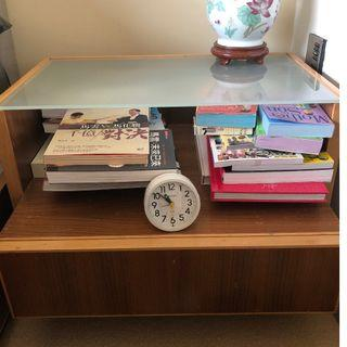 """Custom-made bedside lamp table x2 (2ft(w)x20""""(d)x18""""(h))"""