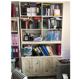"Custom-Made Book shelf (47.5""(W)x 17.5""(d)x 88""(h))"