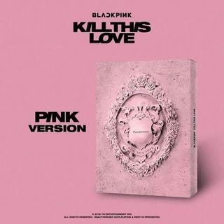 OPEN PO KILL THIS LOVE BLACKPINK ALBUM