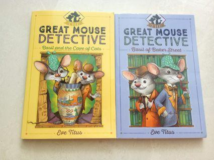 🚚 Great mouse detective by Eve Titus