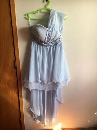 Mullet ball dress