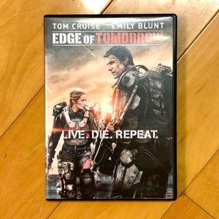 異空戰士 Edge of Tomorrow 湯告魯斯 TOM CRUISE 可選繁體中文 / 英文字幕 港版3區 DVD