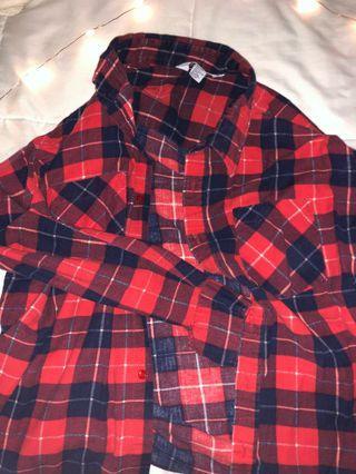 big comfy flannel