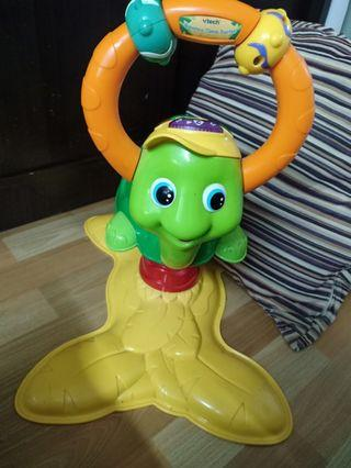 Vtech turtle bouncer with learning music