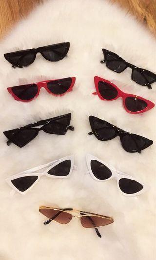 Trendy sunglasses READY STOCK