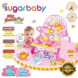 Sugarbaby Bouncer Pink