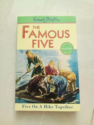🚚 The famous five by Enid blyton