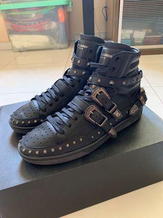 🚚 Saint Laurent SL/08H High Court Sneakers