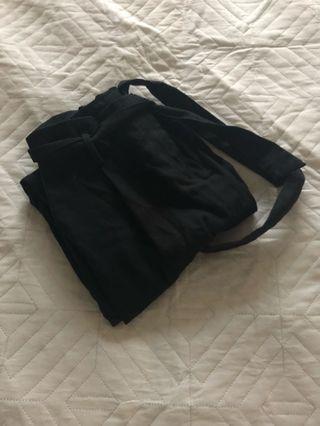 'Temt' Kalina Black Peg Pants Size S