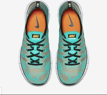 🚚 Nike Free Flyknit NSW Hyper Jade