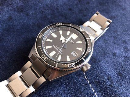 Black Seiko 62MAS Reissue Diver Watch