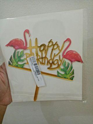 TOPPER CAKE HIASAN KUE ULANGTAHUN