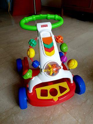 🚚 Fisher Price Walker to Wagon (with box)