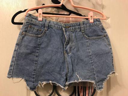 🚚 韓牛仔短褲