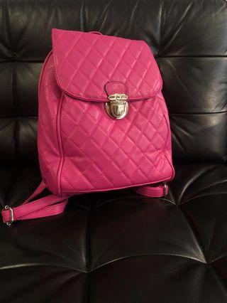 🚚 Pink bagpack